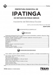 Download Apostila Ipatinga Pdf – Assistente de Biblioteca Escolar