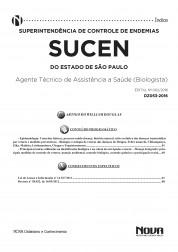 Apostila SUCEN - Agente Técnico de Assistência a Saúde - Biologista