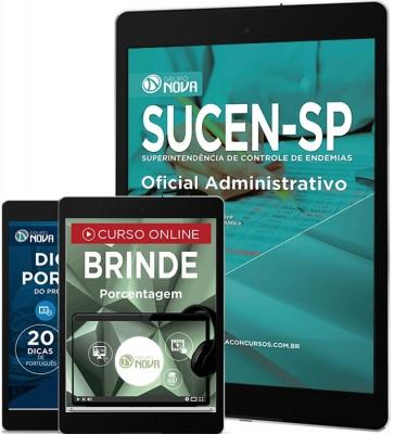 Download Apostila SUCEN Pdf - Oficial Administrativo
