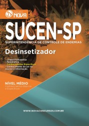 Download Apostila SUCEN Pdf - Desinsetizador