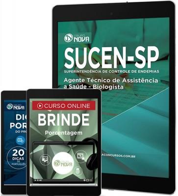 Download Apostila SUCEN Pdf - Agente Técnico de Assistência a Saúde - Biologista