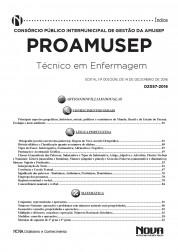 Download Apostila PROAMUSEP Pdf – Técnico em Enfermagem