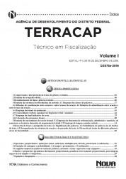 Apostila TERRACAP – Técnico em Fiscalização