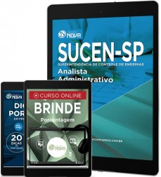 Download Apostila SUCEN Pdf - Analista Administrativo