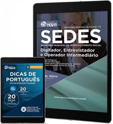 Download Apostila SEDES Pdf – Digitador, Entrevistador e Operador Intermediário