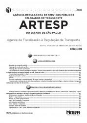 Apostila ARTESP - Agente de Fiscalização à Regulação de Transporte