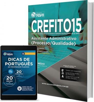 Apostila CREFITO 15ª Região – Assistente Administrativo (Processos/Qualidade)