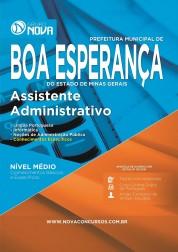 Apostila Boa Esperança – Assistente Administrativo