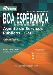 Apostila Boa Esperança – Agente de Serviços Públicos - Gari