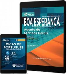 Download Apostila Boa Esperança Pdf – Agente de Serviços Gerais