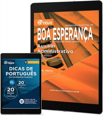 Download Apostila Boa Esperança Pdf – Auxiliar Administrativo