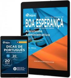 Download Apostila Boa Esperança Pdf – Assistente Administrativo