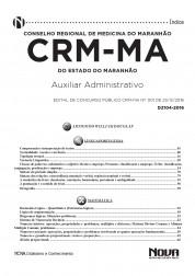Download Apostila CRM - MA Pdf – Auxiliar Administrativo