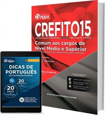 Apostila CREFITO 15ª Região – Cargos de Nível Médio e Superior