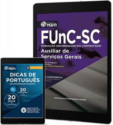 Download Apostila FunC SC Pdf - Auxiliar de Serviços Gerais
