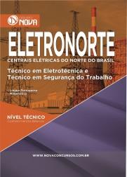 Download Apostila ELETRONORTE Pdf - Técnico em Eletrotécnica e Técnico em Segurança do Trabalho