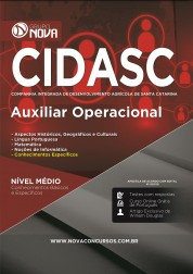 Apostila CIDASC - Auxiliar Operacional