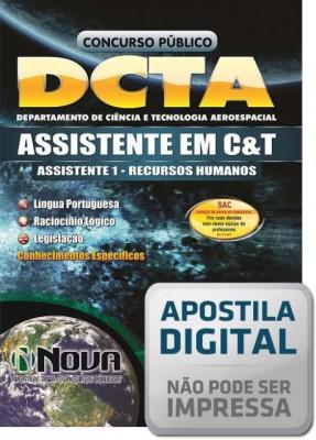 Assistente em C&T - Recursos Humanos