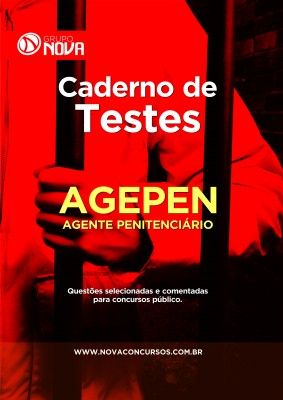 Caderno de Testes AGEPEN - Agente Penitenciário