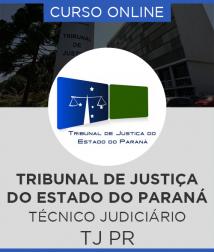 Curso Online TJ - PR - Técnico Judiciário