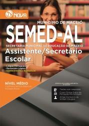 Apostila SEMED - AL – Assistente/ Secretário Escolar