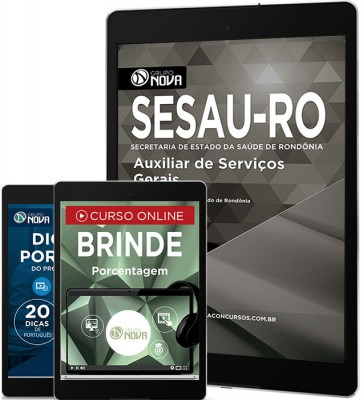 Download Apostila SESAU - RO Pdf – Auxiliar de Serviços Gerais