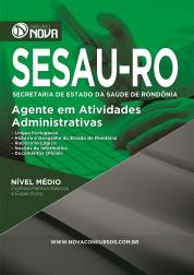 Download Apostila SESAU - RO Pdf – Agente de Atividades Administrativas