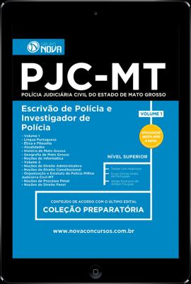 Download Apostila PJC - MT Pdf - Escrivão de Polícia e Investigador de Polícia