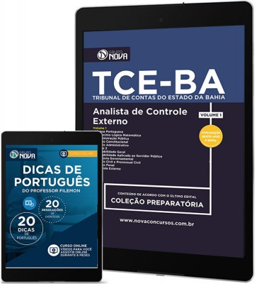 Download Apostila TCE - BA Pdf - Analista de Controle Externo