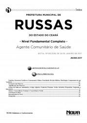 Apostila Prefeitura de Russas - CE - Agente Comunitário de Saúde