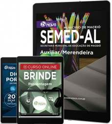 Download Apostila SEMED - AL Pdf – Auxiliar/Merendeira