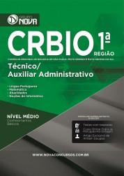 Apostila CRBIO 1ª Região – Técnico/ Auxiliar Administrativo