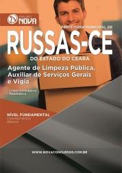 Download Apostila Prefeitura de Russas - CE – Agente de limpeza pública, Auxiliar de serviços gerais e Vigia