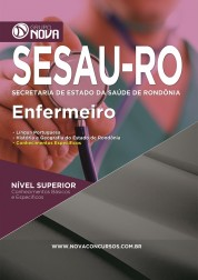 Download Apostila SESAU - RO Pdf – Enfermeiro