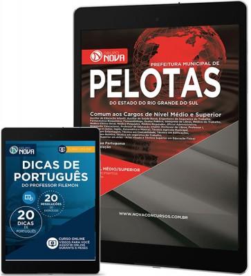 Download Apostila Prefeitura de Pelotas – RS Pdf - Comum aos cargos de Nível Médio e Superior