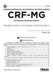 Apostila CRF - MG - Assistente Administrativo e Recepcionista