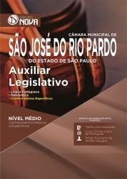 Apostila Câmara de São José do Rio Pardo - SP – Auxiliar Legislativo