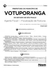 Apostila Prefeitura Municipal de Votuporanga - SP – Agente Fiscal I – Fiscalização de Posturas