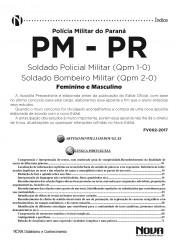 Apostila PM - PR 2017- Soldado Policial Militar e Soldado Bombeiro Militar