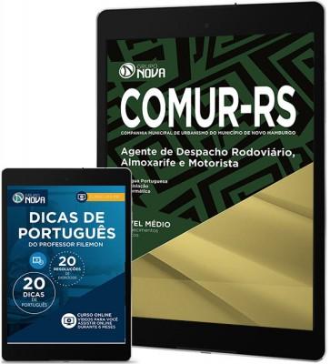 Download Apostila COMUR - RS 2017 Pdf – Agente de Despacho Rodoviário, Almoxarife e Motorista