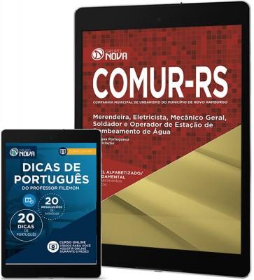 Download Apostila COMUR - RS 2017 – Merendeira, Eletricista, Mecânico Geral, Soldador e Operador