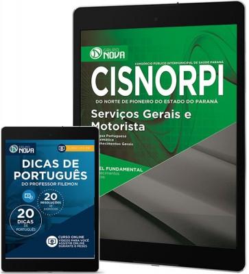 Download Apostila CISNORPI - PR Pdf – Serviços Gerais e Motorista