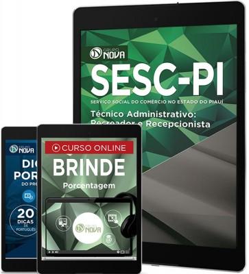 Download Apostila SESC - PI Pdf – Técnico Administrativo: Recreador e Recepcionista