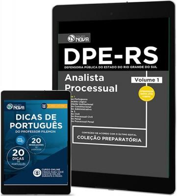 Download Apostila DPE - RS Pdf - Analista Processual