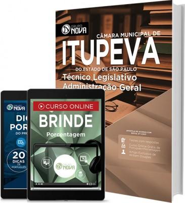 Apostila Câmara Municipal de Itupeva - SP – Técnico Legislativo Administração Geral