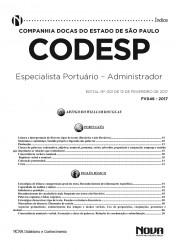 Apostila CODESP - SP - Especialista Portuário – Administrador