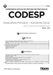 Apostila CODESP - SP – Especialista Portuário – Assistente Social