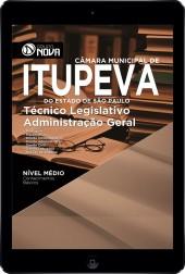 Download Apostila Câmara Municipal de Itupeva - SP Pdf – Técnico Legislativo Administração Geral