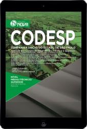 Download Apostila CODESP - SP Pdf – Comum aos cargos de Nível Médio/Técnico e Superior