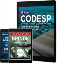 Download Apostila CODESP - SP Pdf – Técnico Portuário (Administrativo)